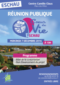 """Réunion publique """"Cœur de Vie"""" @ Centre Camille Claus"""
